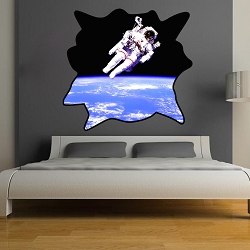 Astronaut Wall Decal Mural