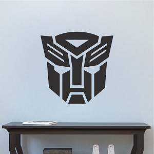 Autobot Logo Transformer Bedroom Decor