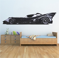 Batmobile Wall Mural Decal