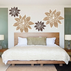 Flower Wall Mural Decals