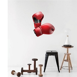 Boxing Gloves Wall Mural Decal