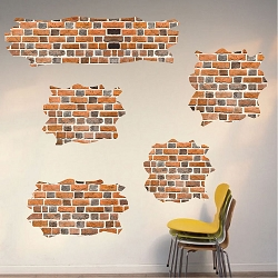 Brick Self Adhesive Wall Decals