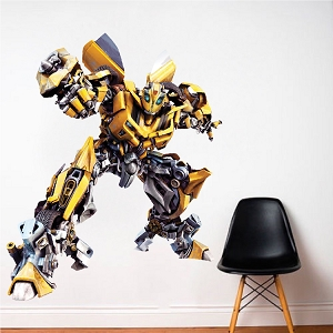 Batmobile wall mural decal comic wall decal murals for Bumble bee mural