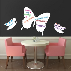 Butterfly Writable Wall Decal