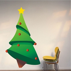 Christmas Tree Wall Decal Part 92