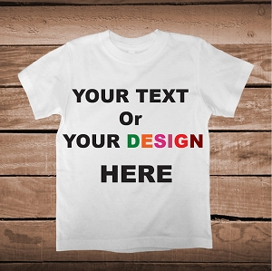 Your Own Designs On Custom Tees, Onesies, and Bibs