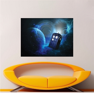 Dr. Who Wallpaper Decal Sticker