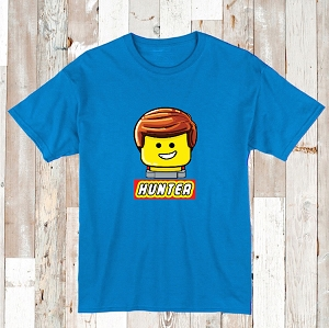 Lego Custom Shirt for Boys