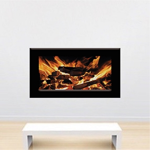 Fireplace Wallpaper Decal