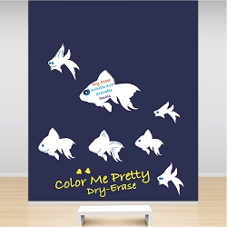 Fish Dry Erase Wall Decals