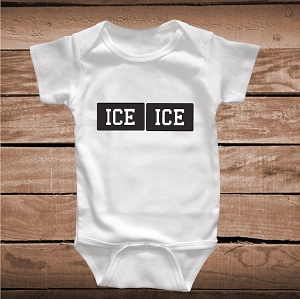 Ice Ice Baby Cute Onesie or Bib