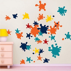 Ink Splash Decal Murals