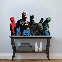 Superheroes Justice League Bedroom Wall Decals