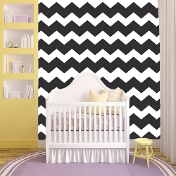 Custom Chevron Wallpaper Self Adhesive Decals