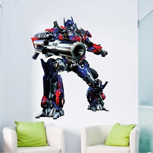 Optimus Prime Transformers Wall Graphic Decal