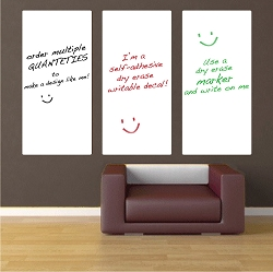 Custom Sizes Writable Decals