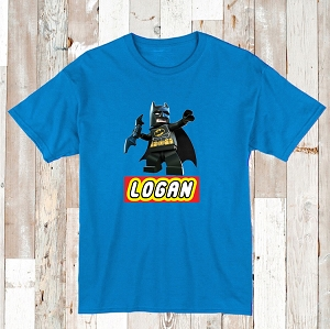 Lego Batman Custom Tee With Name