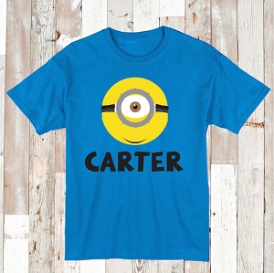 Personalized Minions T-Shirts , Onesies, or Bibs