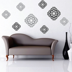 Ornament Wall Mural Decals
