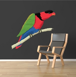 Parrot Wall Mural Decal