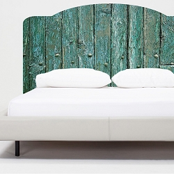Rustic Bed Headboard Mural Decal
