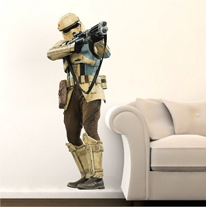 Star Wars Characters Rogue One Shoretrooper Wall Mural Design
