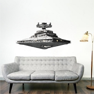 Imperial Star Destroyer From Star Wars Wall Decal