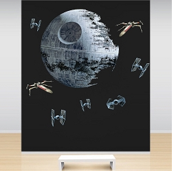 Star Wars Death Star and Fighters Wall Kit