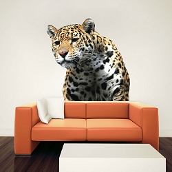 Leopard Decal Mural