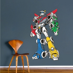 Voltron Wall Mural Decal