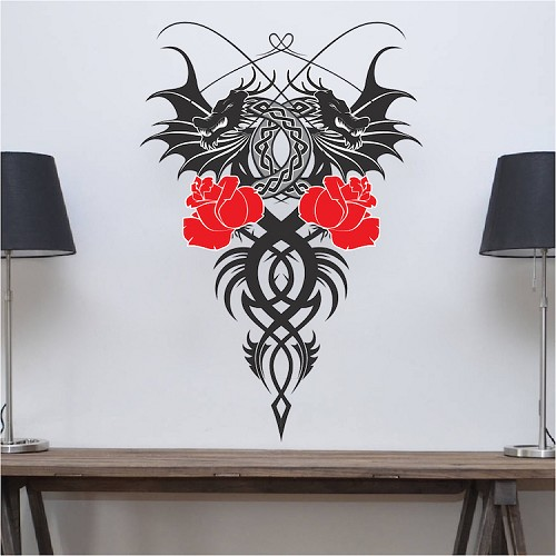 dragon wall mural asian decals primedecals