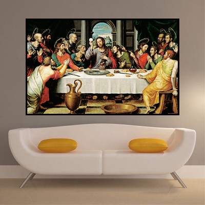 Last Supper Wall Decal Mural Jesus Decals Primedecals