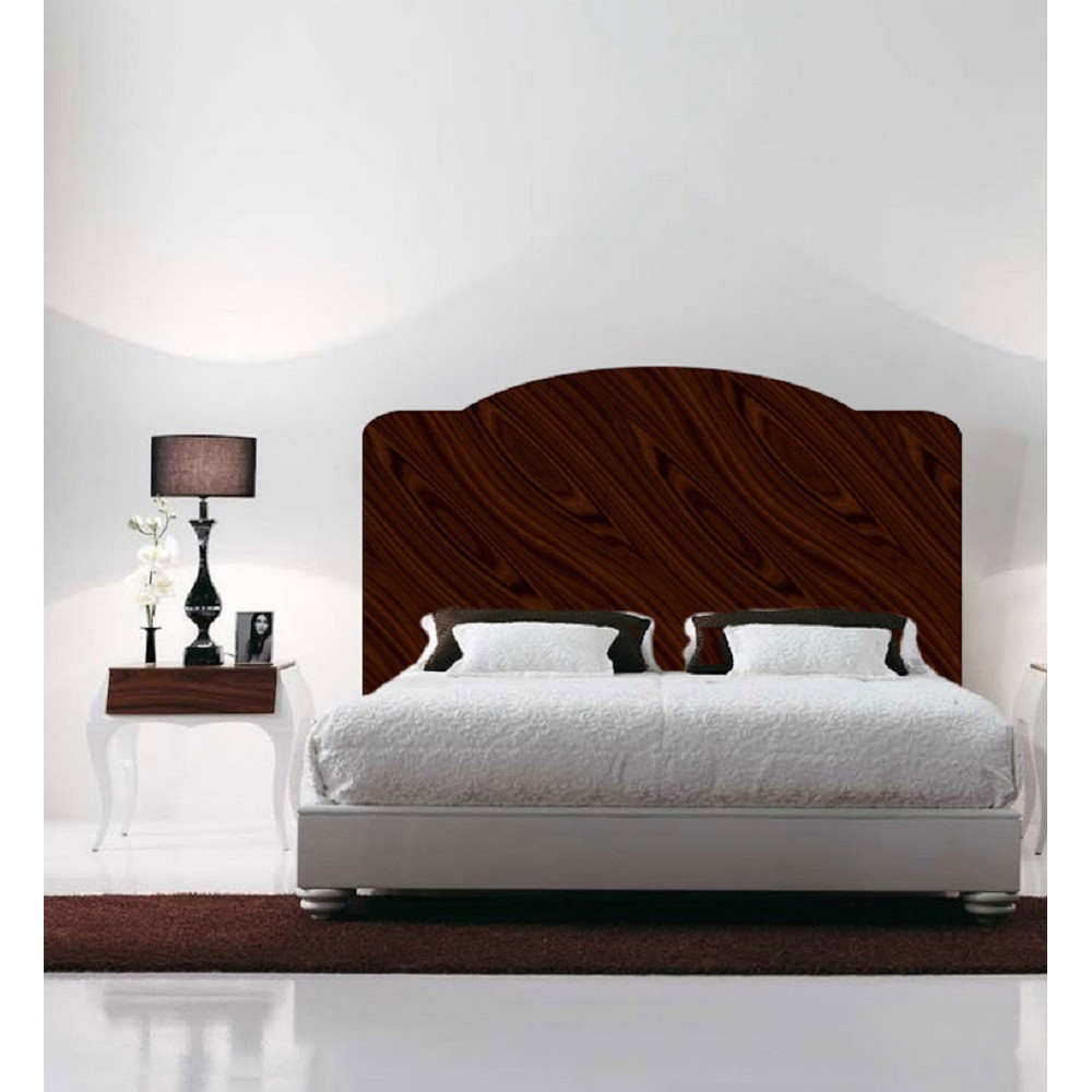 Mahogany headboard decal mural bedroom decals primedecals for Mural headboard