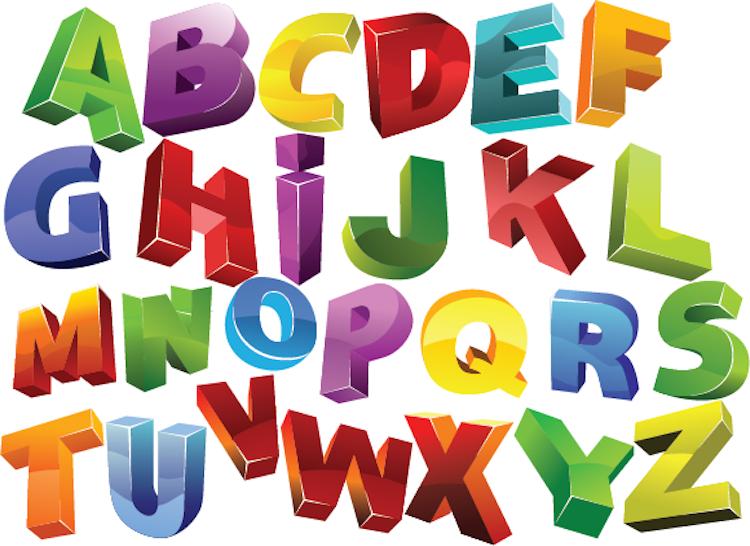 3d alphabet wall decals nursery wall decal murals primedecals quick view altavistaventures Gallery