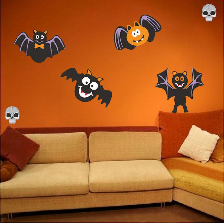 Halloween Wall Mural Decals Halloween Stickers Primedecals