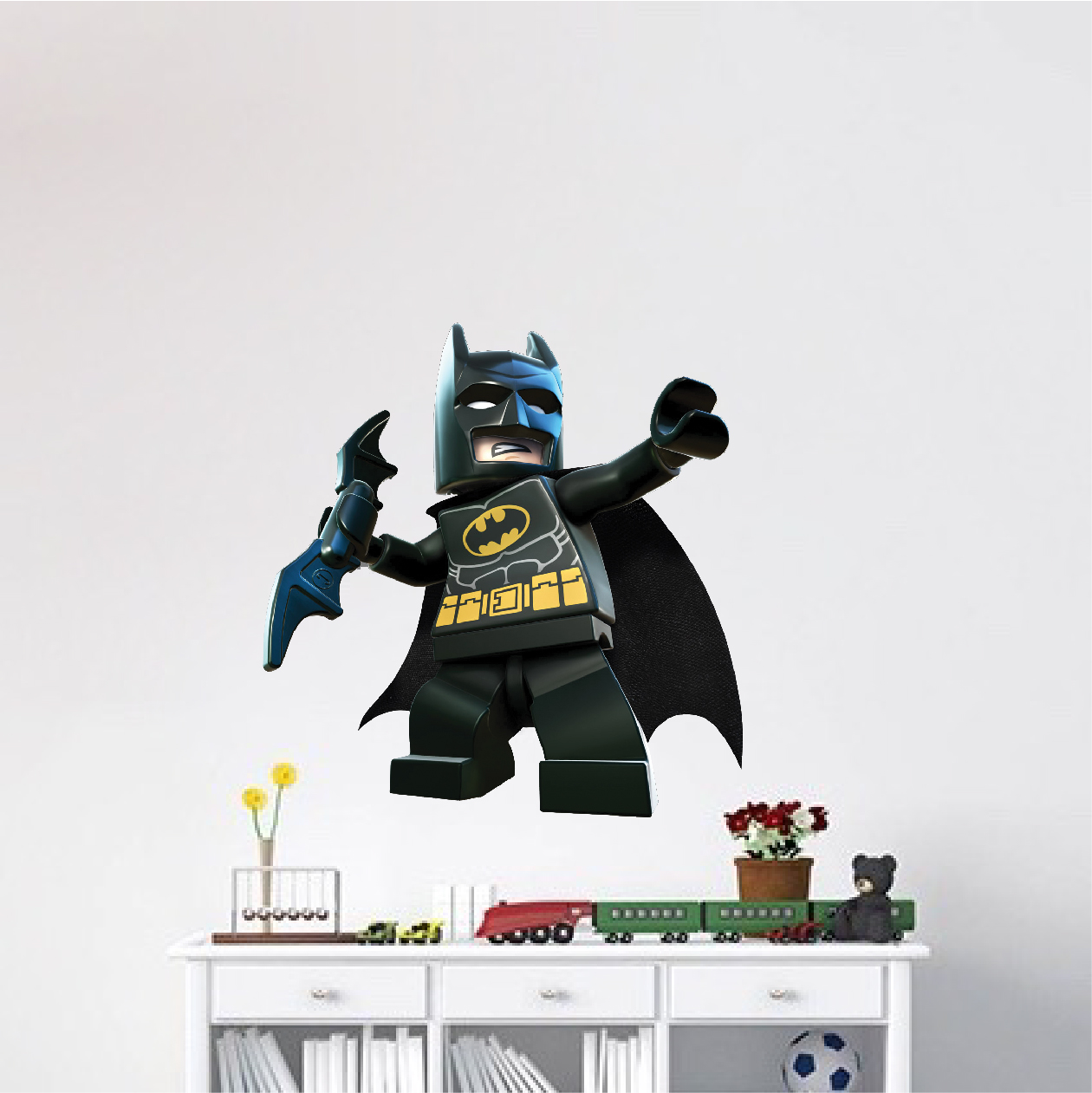 Lego Batman Wall Decal - Superhero Wall Design