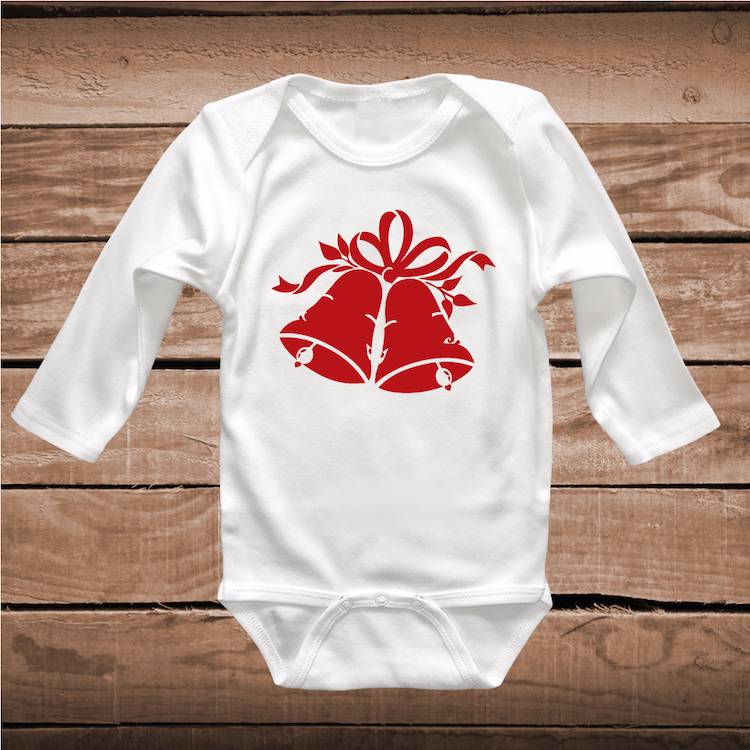 Christmas Bell Custom Tee Shirt _ Baby Bodysuit _ Christmas Shirts _ ...