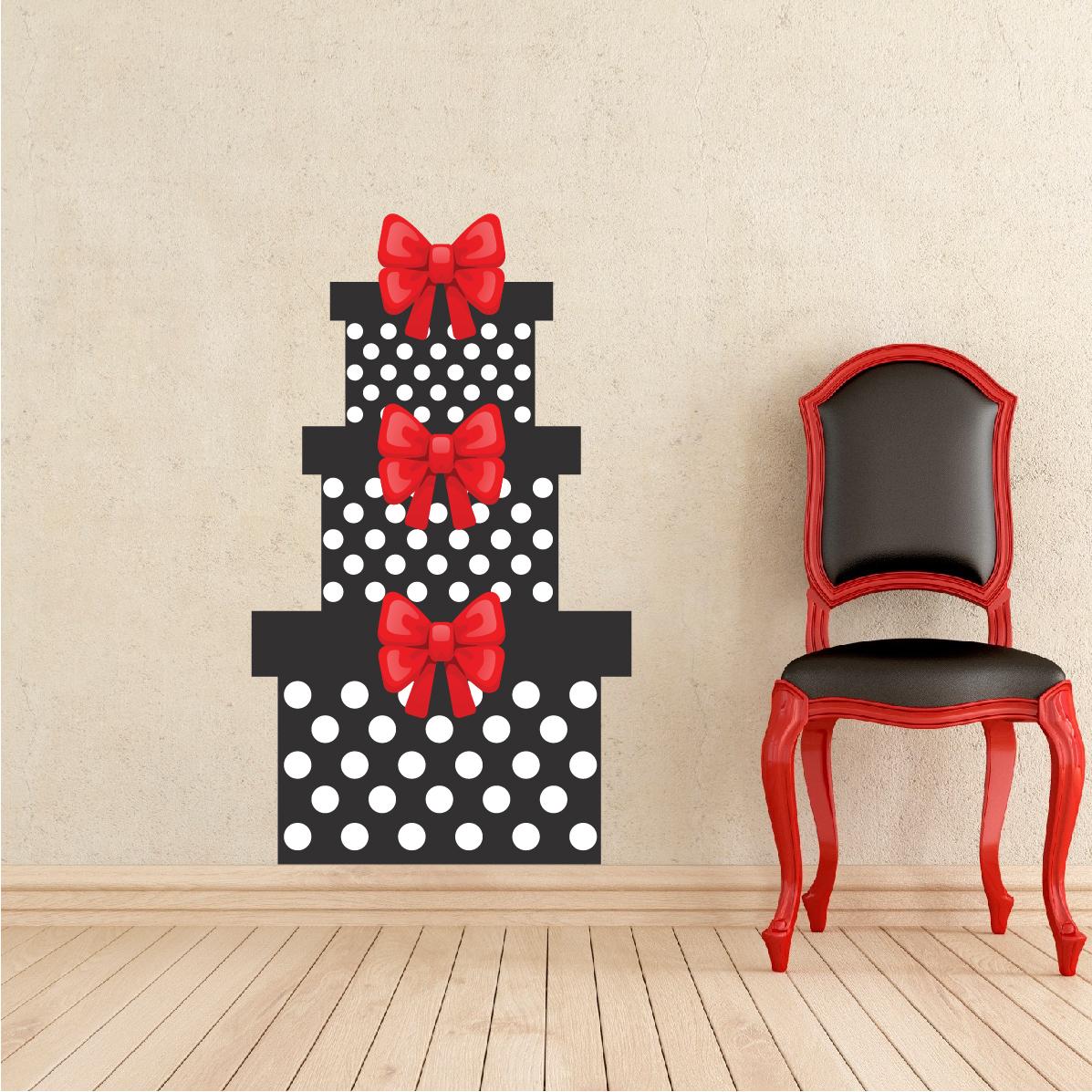 Christmas Present Wall Decal Mural Christmas Present