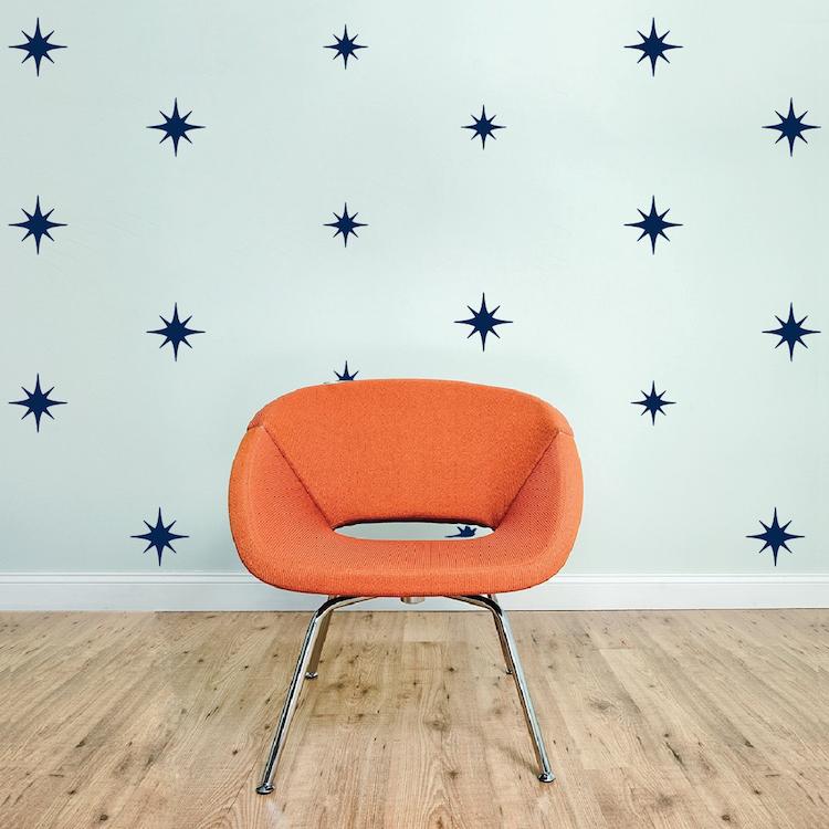 Star Wall Decals Star Wall Designs Nursery Star Wall Decals