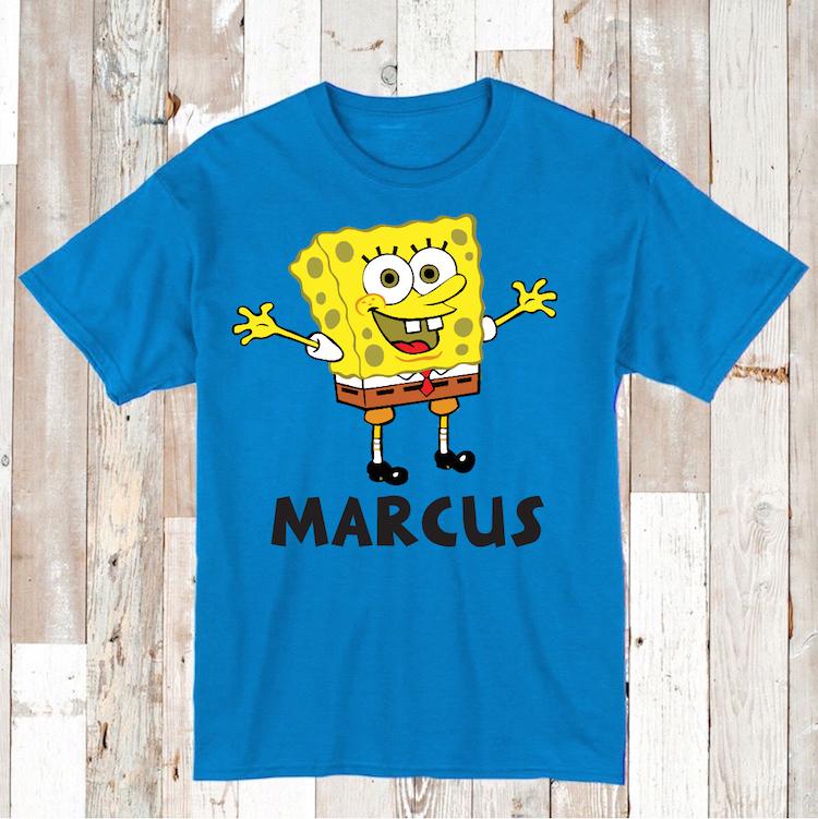Spongebob T Shirts Onesies Or Bibs Custom Clothes