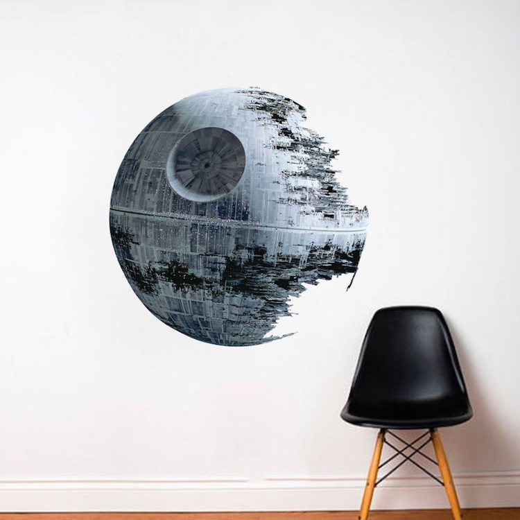 Star Wars Death Star 4 Inch Vinyl Decal Sticker New Multiple Colors Available!