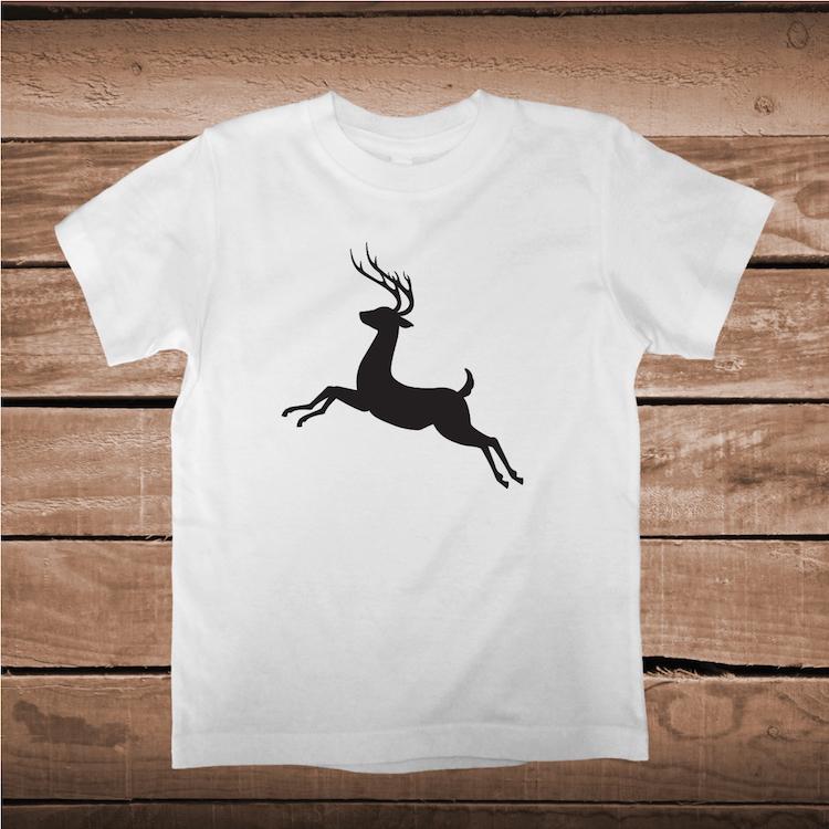 Deer Jumping T Shirt Tee Shirt Deer Jumping Baby Clothes