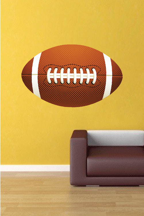 Large Football Wallpaper Graphic Large Football Wall