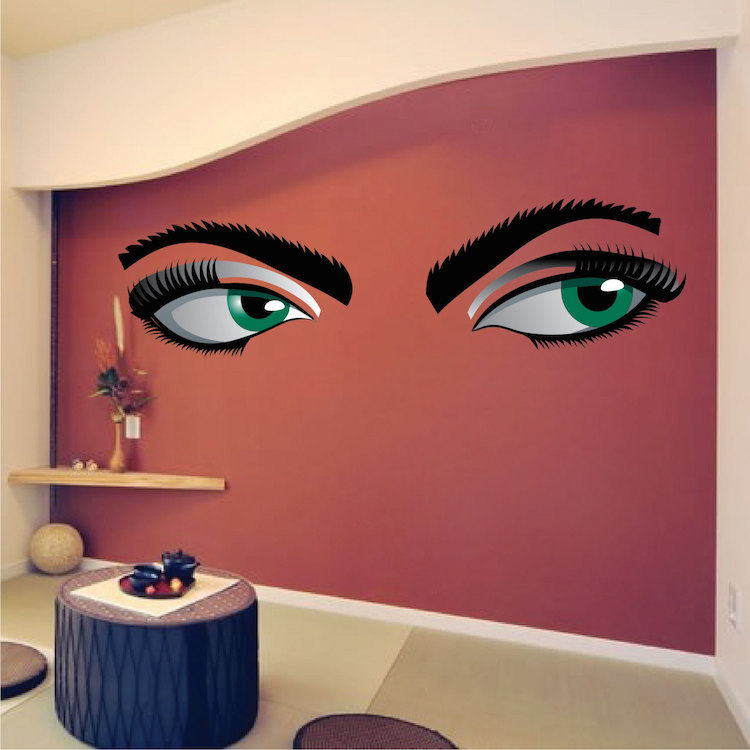 Mystery Eyes Mural Decal Primedecals