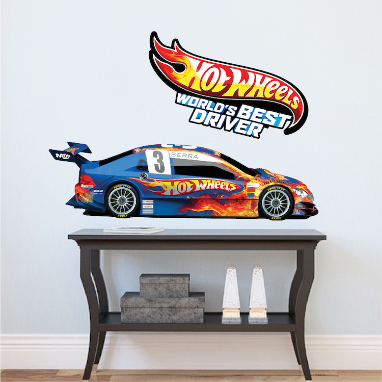 Race Car Boys Room Decals Race Car Wallpaper Boys Room Wall