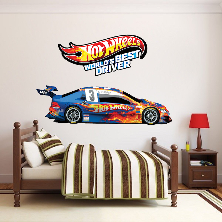 Race Car Boys Room Decals