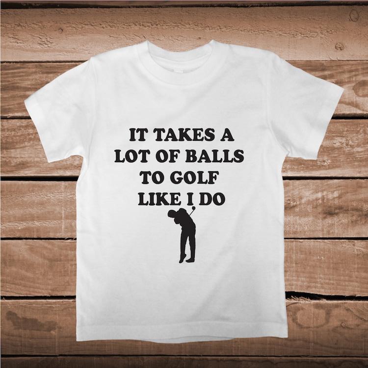 abcc5de01 Golfer Clever Tee _ Golfing Funny Custom Tees _ Custom Gofl Tees _ ...