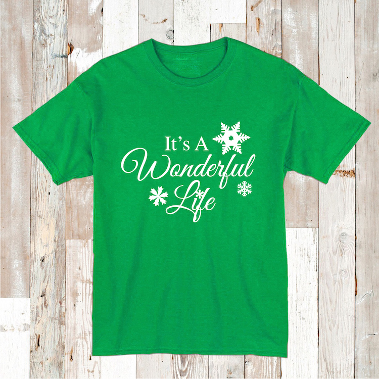 It S A Wonderful Life Shirt Tee Tees Baby Bodysuit