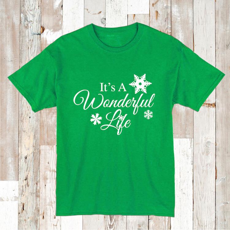 It S A Wonderful Life Shirt Tee Tees Baby Bodysuit