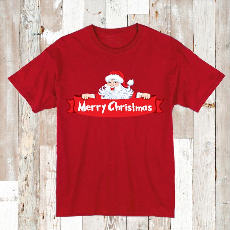 Merry Christmas Custom T-Shirt _ Christmas Shirt _ Custom Tees_ ...